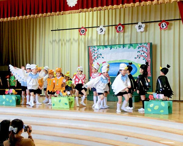 年中組遊戯会参観日