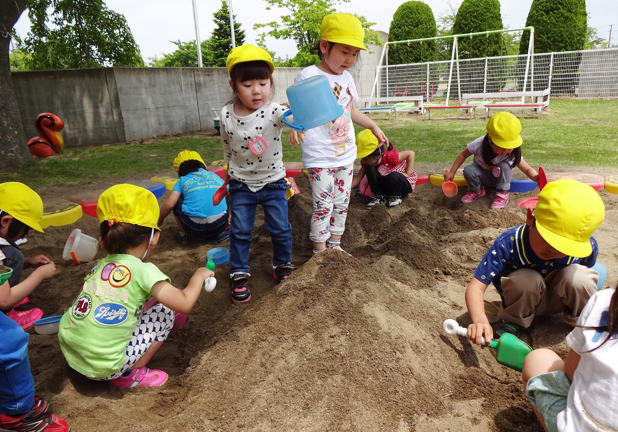 3歳専用の庭