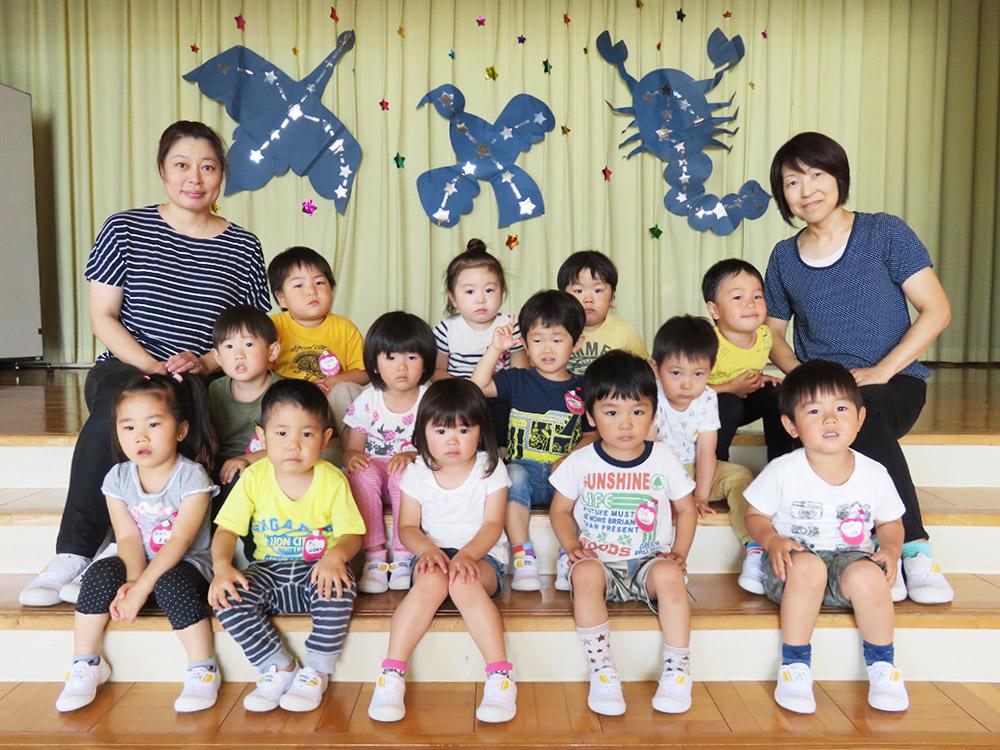 満3歳クラス赤組