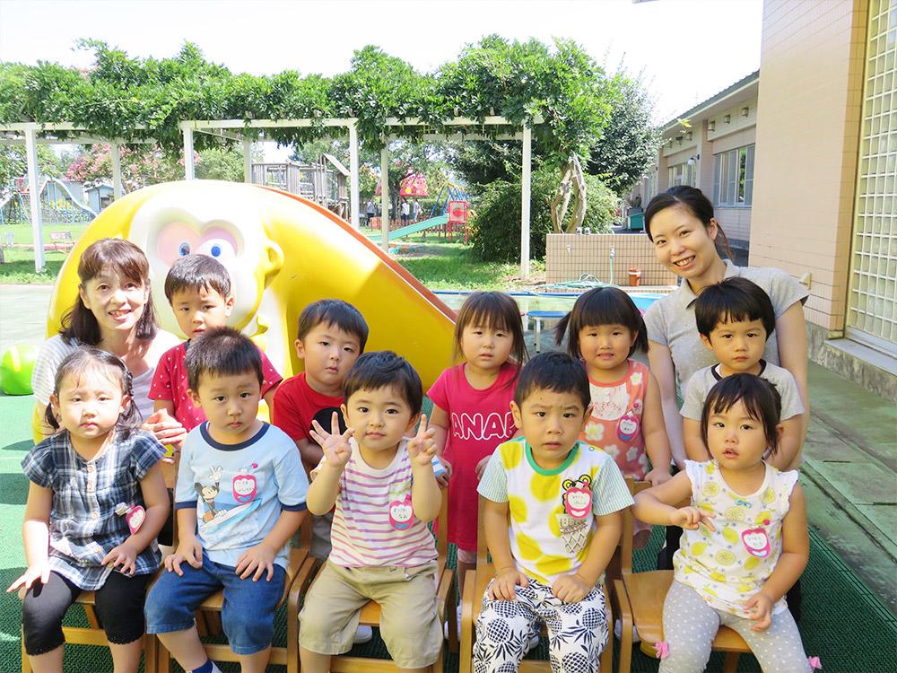 満3歳クラス青組